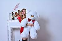 """Мягкая игрушка мишка ДЕН (130 см), Харьков """"Белый"""", фото 1"""