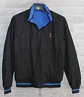 """Куртка чоловіча демісезонна, двостороння, розміри 46-52 (2цв) """"CITY"""" недорого від прямого постачальника"""