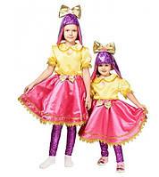 Детский карнавальный костюм Куклы Лол для девочек 4-8 лет Костюм Куколка Lol 344