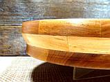 Деревянная сегментная  тарелка, конфетница,ваза для фруктов, фото 3