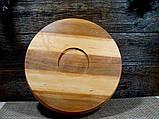 Деревянная сегментная  тарелка, конфетница,ваза для фруктов, фото 4