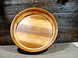 Деревянная сегментная  тарелка, конфетница,ваза для фруктов, фото 7
