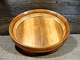 Деревянная сегментная  тарелка, конфетница,ваза для фруктов, фото 5