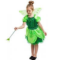 Детский карнавальный костюм Феи для девочек 5-8 лет Костюм Феи Динь-Динь