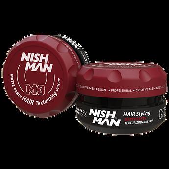Матовая паста для укладки волос Nishman Matte Paste М3 100мл