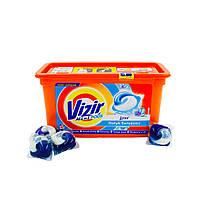 Капсули для прання кольорової білизни Vizir All-in-1 Pods Color, 16 шт.