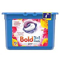 Капсули для прання універсальні bold 3-в-1 жовтий мак, 16 шт