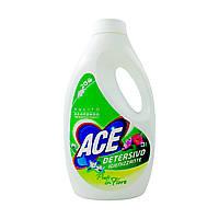 """Гель для прання білої та кольорової білизни ACE """"Квітучі луки"""" (20 циклів), 1,3 л"""