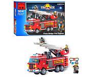 """Конструктор """"Пожарная машина с командой"""" 364 детали Brick - 904"""