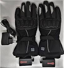Мотоциклетні рукавички з підігрівом утеплені, воднонепоницаемые CRIVIT moto 7.4 V 3000mAh 40-60 С (Німеччина)