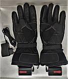 Мотоциклетні рукавички з підігрівом утеплені, воднонепоницаемые CRIVIT moto 7.4 V 3000mAh 40-60 С (Німеччина), фото 3
