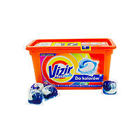 Капсули для прання кольорової білизни Vizir All-in-1 Pods, 41 шт.