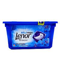 """Капсулы для стирки Lenor All in 1 Pods """"Весенняя свежесть"""", 36 шт., фото 1"""