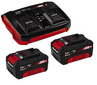 Аккумулятор + зарядное устройство на два аккум. 18 V 2 x 3.0 Ah Twincharger Kit (4512083)