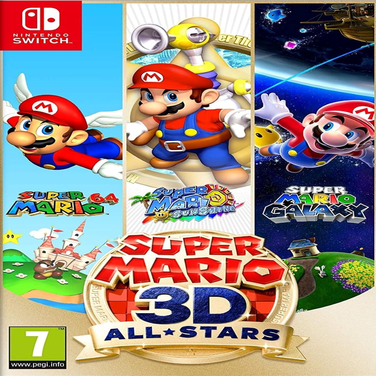 Super Mario 3D All-Stars (англійська версія) Nintendo Switch