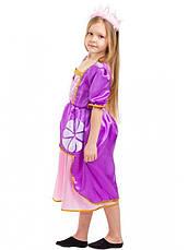 Дитячий карнавальний костюм Софія для дівчаток 5-8 років Дитяче плаття Принцеси Софії, фото 2