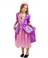 Дитячий карнавальний костюм Софія для дівчаток 5-8 років Дитяче плаття Принцеси Софії, фото 3