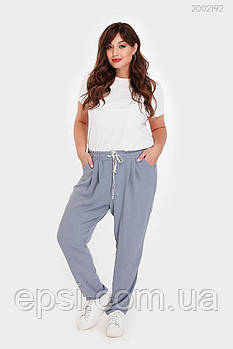 Женские брюки PEONY Бриг 48 Серый (2002192-48:9)