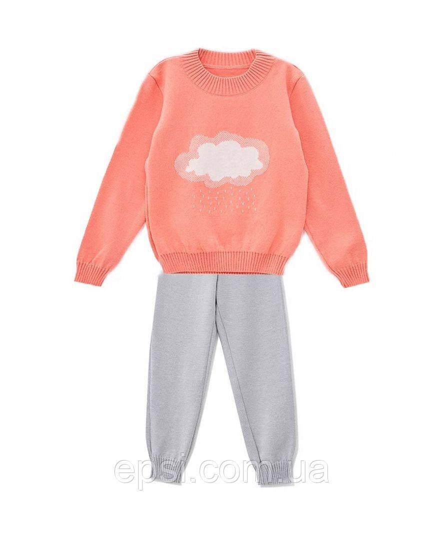 Спортивный костюм детский Тучка 110/116  джемпер+брюки Прованс