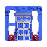 Держатель плат AIDA A21+ для iPhone 5C-XR, из высокотемпературного композита с гнездами под BGA микросхемы