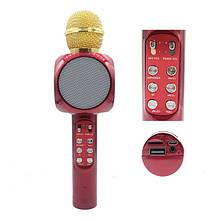 Безпровідний мікрофон караоке WS-1816 Original з функцією зміни тембру голосу