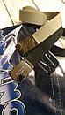 Ремінь чорний тканинний для джинс Montana, фото 7
