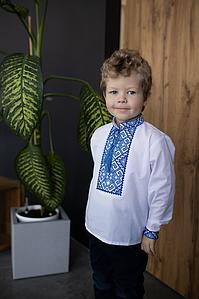 """Вышивка для мальчика с классическая """"Орнамент"""""""