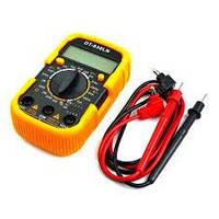 Мультиметр цифровий DT-830LN з підсвічуванням (струм до 10А)