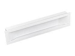 Ручка мебельная Citterio Line 405В-71-160 белый матовый
