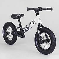 Беговел велобег Corso Skip Jack 11057 алюминиевая рама амортизация заднего колеса