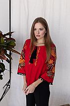 """Блуза з вишивкою """"Петраківка"""", фото 2"""