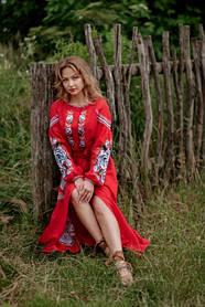 Вишиті сукні 2021