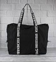 Легкая спортивная, дорожная сумка EMKeke 977 черная, расцветки, фото 1