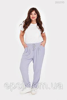 Женские брюки PEONY Бриг 48 Голубой (2002193-48:115)