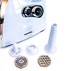 М'ясорубка електрична Molnia 2500 Вт універсальна електром'ясорубка з соковижималкою, фото 2