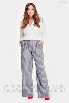 Женские брюки PEONY Атенс - 1 48 Серый (170918-48:9)