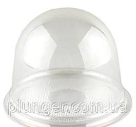 Коробочка-купол для кондитерських виробів, міні десертів, розмір 9х8 см (ціна за 1 шт.) прозорий