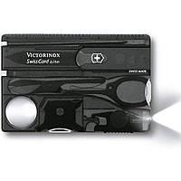 Набор карманных ножей Victorinox Swisscard Lite, черная на блистере, фото 1