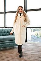Женское пальто из шерсти Альпака  р.48-58, фото 1