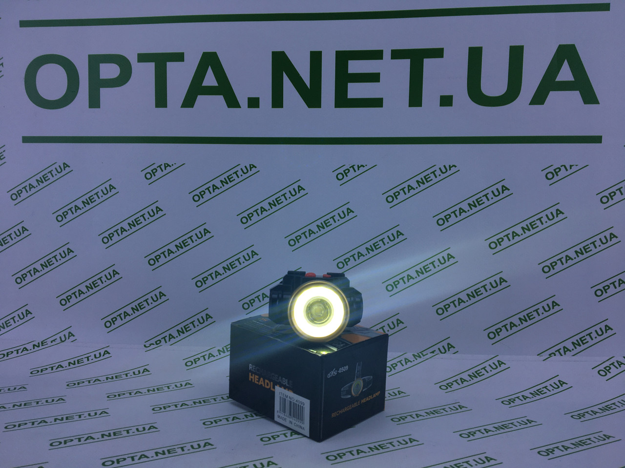 Налобный фонарь BL-0509C COB 300Lm