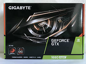 Вiдеокарта GIGABYTE GeForce GTX 1660 Super OC 6GB GDDR6 192bit