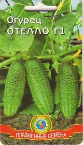Насіння огірків Огірок Отелло F1 10 штук (Плазмові насіння)