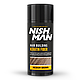 Камуфляж для залисин Nishman Hair Building Keratin Fiber Коричневий, фото 2