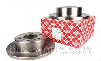 Задний тормозной диск на MB Sprinter 906, VW Crafter 2006→ — Febi (Германия) — 27699