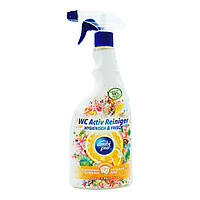 Универсальный спрей для чистки ванны и туалета Ambi Pur WC Active Reiniger Botanical Fragrances «Citrus &