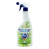 Универсальный спрей для чистки ванны и туалета Ambi Pur WC Active Reiniger Botanical Fragrances «Wild Sage &