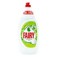 Гель для миття посуду Fairy Sensitive «Яблуко», 1350 мл, фото 1