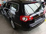 Пластикова накладка заднього бампера для Volkswagen Passat B6 Variant 2005-2010, фото 2