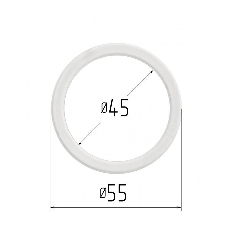 Протекторне термокільце для натяжних стель - діаметр 45 мм (зовнішній 55мм)
