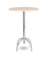 Высокий стол-стойка Виктор 110 (основание) хром